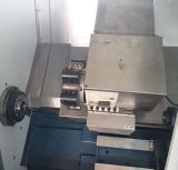 Tipo eje de rotación horizontal del residuos de mezcla del CNC del torno del CNC de la base de la inclinación que procesa la máquina del torno
