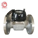 Mètre détachable d'activité de l'eau de Woltman de l'acier inoxydable Dn65