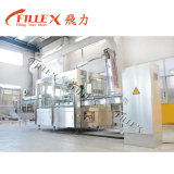 Linha dos equipamentos da maquinaria da produção da água