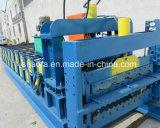 Telhado de metal de Dupla Camada máquina de formação do Rolo