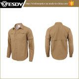 Été campant et augmentant les chemises des hommes imperméables à l'eau de séchage rapides de sports en plein air