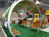 옥외 적당 공원에 의하여 이용되는 큰 천막