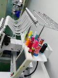 صناعيّ وحيدة رئيسيّة تطريز آلة لأنّ غطاء, [ت-شيرت] وتطريز مسطّحة مع كبيرة من تطريز
