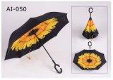 يطوي صامد للريح ظلة لعبة غولف عكس خارجيّ مطي مظلة لأنّ ترقية