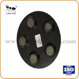 O metal com resina 5 almofada de polir, Ferramenta de abrasivos de diamante para piso de concreto.
