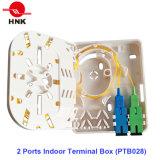 2 портов для использования внутри помещений клеммной коробки (PTB028)