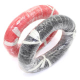 14 AWG super macio e flexível de borracha de silicone Cabo do fio preto/vermelho