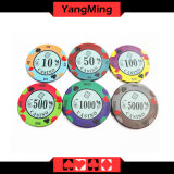 O póquer que bronzeia o póquer lasca-se (YM-CP020-21)