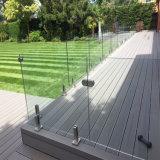 El vidrio de la protección de la seguridad embrida la cerca de la piscina con alta calidad