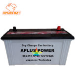 Carga seca ácido de chumbo 12V 100Ah Bateria N100 para veículo