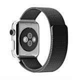 Venda milanesa superventas 38m m del bucle del acero inoxidable 42m m para la venda de reloj de Apple