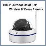 1080P de seguridad CCTV Onvif impermeable P2P Cámara Domo IP inalámbrico