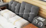 Современная и удобная кровать для хранения ткани с одной спальней