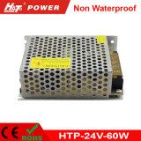 alimentazione elettrica di commutazione del trasformatore AC/DC di 24V 2.5A 60W LED Htp