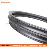 27.5 pulgadas llanta MTB carbono 40mm ancho 30mm de profundidad