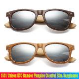 1501 temples de bambou Eco unisexe Film coloré des lunettes de soleil