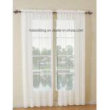 2 части панели 100% ткани полиэфира занавеса окна сплошного цвета отвесной