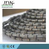 De plastic het Bevestigen Zaag van de Draad van de Diamant voor Graniet en het Marmeren Regelen van het Blok