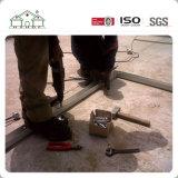 Kundenspezifischer Entwurf und installieren schnell helles Stahlvorfabriziertlandhaus