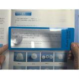 De promotie 6X Plastic Heerser van Magnifier van de Referentie voor Lezing 187*65mm hw-803A