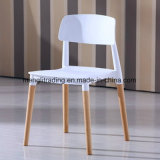 بلاستيكيّة يتعشّى كرسي تثبيت مع [ووودن لغ]