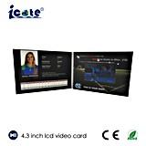 Heißes verkaufenA5 A4 Format 4.3 '' Visitenkarte 5 '' 7 '' mit LCD