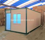 Camp modulaire portatif de Domitory de Chambre de conteneur de paquet plat en Amérique du Sud