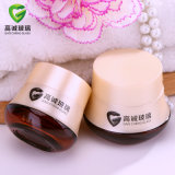 Glass Cosmetics Lotion Bottle with Cream Jar
