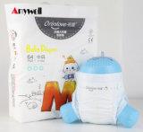 도매 Breathable 3D 누출 가드에 의하여 인쇄되는 아기 처분할 수 있는 작은 접시 기저귀 바지