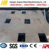 Le découpage de plaque en acier en métal pour personnalisent la forme