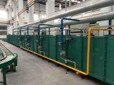 Calor da produção do cilindro de gás do LPG que trata a máquina da fornalha