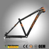 破裂音カラーの範囲の軽量アルミニウム自転車フレーム