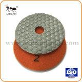 При нажатии кнопки сухой шлифовки блока используется для гранита мраморными плитками Тераццо
