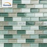 Venta caliente cocina fábrica Backsplash mosaico de vidrio de color Mix