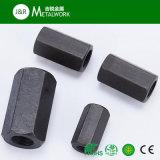 Inoxydable/Canal long en acier galvanisé l'écrou hexagonal DIN6334