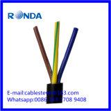 4 sqmm flexível do cabo de fio elétrico 6 do núcleo