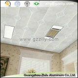 Techo decorativo de la impresión de la capa del rodillo del panel del techo de aluminio