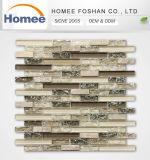 Spät en gros konzipiert knistern Backsplash/Wand-Glassteinmosaik-Fliese
