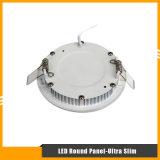 9W luz del panel ultra delgada del redondo LED para la iluminación de techo