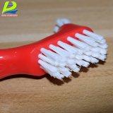 Escova da dentadura do líquido de limpeza do dente falso