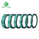 Revestimiento de polvo para alta temperatura de color verde de enmascarar cinta de protección de animales de compañía