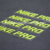 Étiquette personnalisée de transfert thermique de silicones de la qualité 3D pour le vêtement