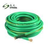 La fibra de plástico reforzado de trenzado manguera de jardín de agua