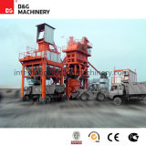 O Pct do Ce do ISO Certificated a planta de tratamento por lotes quente do asfalto de 160 T/H
