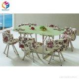 Hôtel Restaurant accueillant des meubles en cuir Président et de table à manger ensemble