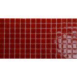 precio de fábrica de la decoración iridiscente rojo mosaico de piscina mosaico de vidrio