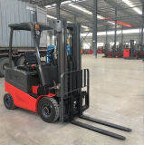 Alta qualidade caminhão de Forklift a pilhas elétrico de quatro rodas de 2.5 toneladas com o motor de movimentação duplo