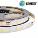 2835 SMD LED 60 12W/m faixa de luz LED Flex