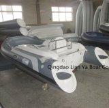 Liya 11FT Mini Barcos insufláveis costela de casco de fibra de barco bote
