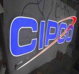아크릴 마스크를 가진 채널 표시 편지를 광고하는 스테인리스 또는 알루미늄 조립 LED 상점